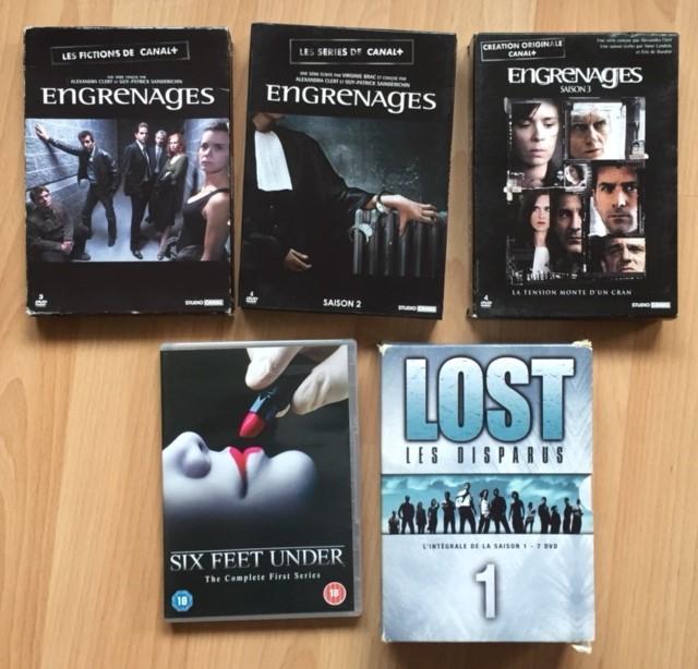 Lot DVD séries