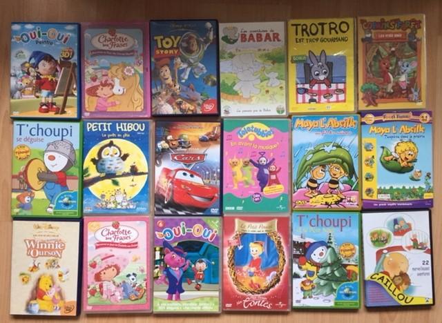Lot DVD enfants